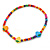 Children's Multicoloured Strawberry Wooden Flex Necklace & Flex Bracelet Set - view 3
