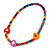 Children's Multicoloured Heart Wooden Flex Necklace & Flex Bracelet Set - view 3