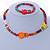 Children's Multicoloured Kitty Wooden Flex Necklace & Flex Bracelet Set - view 2