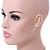 Romantic White Matt Enamel 3D Floral Necklace & Stud Earrings In Rhodium Plating - 40cm L/ 8cm Ext - Gift Boxed - view 3