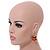 Multicoloured Wooden Bead Long Necklace, Drop Earrings, Flex Bracelet Set - 80cm Long - view 4